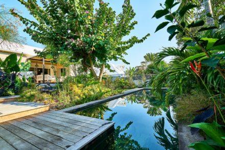 Aménagement jardin d'une villa
